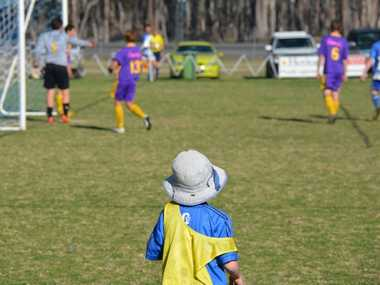 Come down and watch the soccer in Nanango Photo Troy Kippen / South Burnett Times
