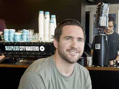 Sleepless City Roasters owner Tim Burstow is passionate about bringing quality coffee to Toowoomba.
