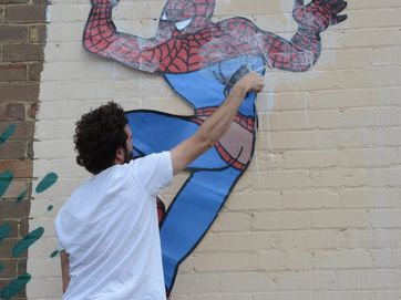 Lismore's Back Alley Gallery gets a refresh.