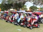 Fraser Coast residents want their world record title back when they compete for the longest parade of motorised scooters and wheelchairs on September 20.