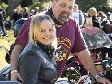 More than 100 Harley-Davidson bikes cruised into Toowoomba for the fundraiser.