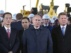 Russia launches construction of gas pipeline to China