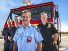 THE National Operations Manager of Aviation Rescue Fire Fighting will present Gladstone Airport firefighters with the St Florians award today.