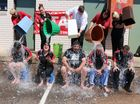 STAFF from the Gatton Star and friends finally bowed to the inevitable and took part in the Ice Bucket Challenge on Thursday.