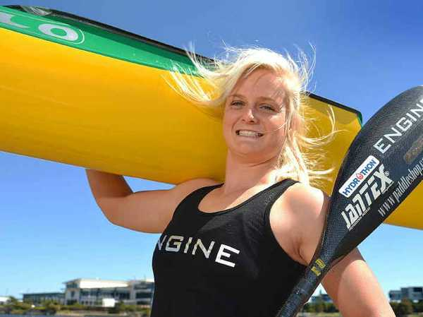 IN the end, it was the lure of the Rio Olympics that helped the 18-year-old choose kayaking over professional surf lifesaving.