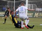A CROWD-pleasing, back-and-forth A-League battle between Central Coast Mariners and Melbourne City at Oakes Oval, Lismore, ended with a 1-all draw yesterday.
