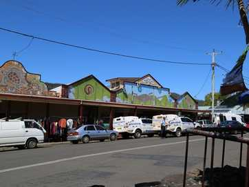 Images from a drug raid today at Nimbin.
