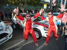The official launch of the 2014 Coates Hire Rally Australia started this afternoon with the rally show in the  Coffs Harbour city centre. Photos: Trevor Veale/Coffs Coast Advocate