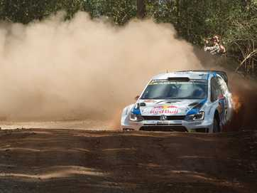 Coates Hire WRC rally, Stage 1 Hydes Creek Glennifer.