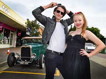 All the sights and colour at the Retro Rocks Nambour event.