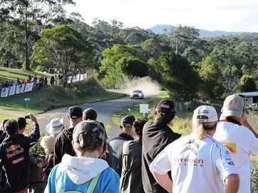 Scenes from Saturday's Coates Hire Rally Australia stages near Nambucca Heads and Valla.