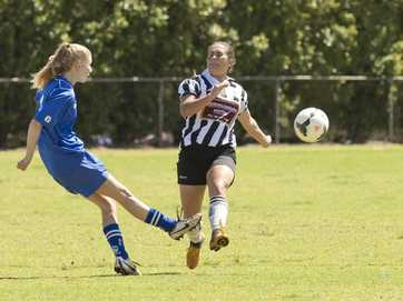 WIllowburn defeat Rockville in the grand final of the Toowoomba Football Premier Women's competition.