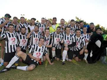 Willowburn capped a dominant season by beating Gatton 4-0 in the Football Toowoomba Premier Men's grand final at Nell E Robinson Park.