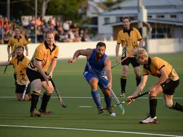 The Division 1 men's hockey grand final.