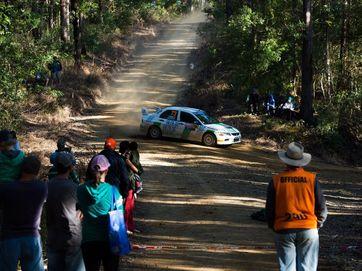 WRC day 3 final stage Wedding bells, Marys Waterhole rd.