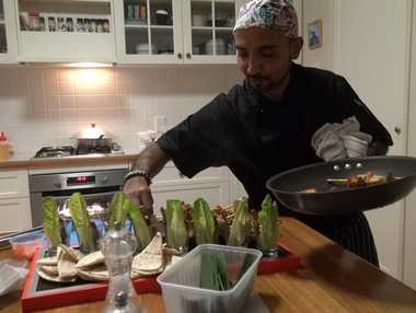 Private chef Talking Turkey