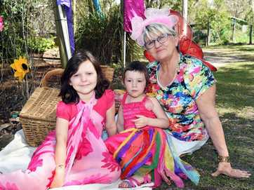 Australiana Cottage Crafts and Herb Farm at Takura hosted its annual fairy fun day on Sunday.