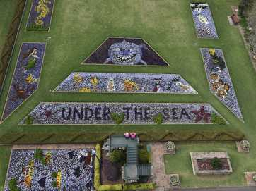 Laurel Bank Park shines during the Toowoomba Carnival of Flowers.