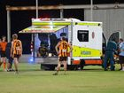 AUSSIE RULES: Mackay City Hawks' Brody Saltmarsh escaped serious injury after a worrying clash in the dying minutes of his side's grand final clash.