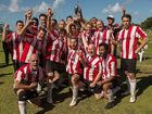 SHORES United Soccer Club defeated Mullumbimby 3-0 in the recent grand final and look forward to getting new facilities at Shara Boulevard.