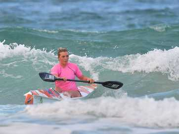 Mooloolaba ironmen and women train before heading off to the world surf lifesaving titles in France