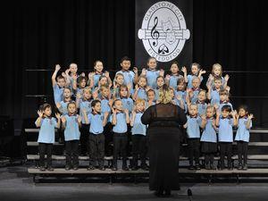 School choirs at eisteddfod