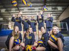 GLADSTONE State High School's girls volleyball team is about to spike its way to the other side of the world.