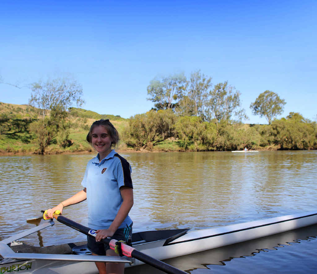 Size is no barrier for young rower