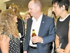 DELTA DECISION: KAFDA spokeswoman Ginny Gerlach updated Premier Campbell Newman and wife Lisa about the importance of protecting Keppel Bay and Fitzroy Delta.