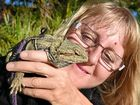 "But Dylan Ogilvie's bearded dragon, Buffy (the cricket slayer) is ""a bit toilet trained"" and perfectly legal."