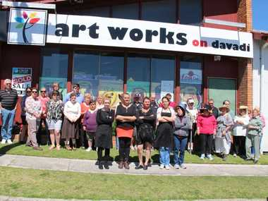 NOT HAPPY: The many, many users of Art Works on Davadi are greatly upset at the news the community hub will close its doors next month. Photo Erin Smith / Stanthorpe Border Post