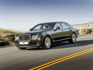 The Bentley Mulsanne Speed.