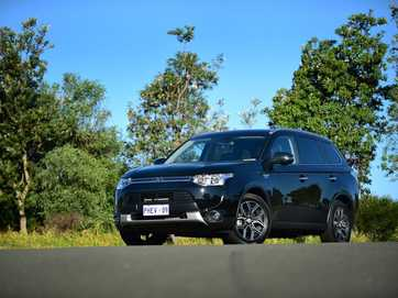 Our long-term Mitsubishi Outlander PHEV Aspire.