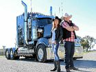NO BRAINER: Jayne Denham and Travis Sinclair have teamed up for their Grew Up Round Trucks tour.