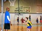 IT'S been an alley-oop affair at Ballina, as Olympic basketballer CJ Bruton and his brother Austin teamed up to train young ball players.