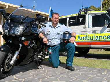 Gatton Ambulance Station officer-in-charge Jamie Woods will take part in The Long Ride.