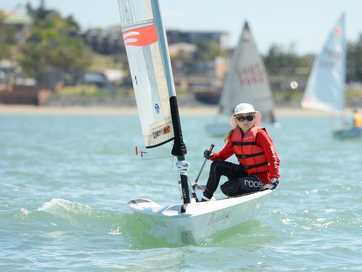 Junior sailors from across the state converged on Yeppoon for the Queensland Youth Sailing Championships on Keppel Bay.
