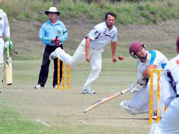 A selection of photos taken at the division one cricket being played at Kendalls Flat on Saturday, 27 September 2014.