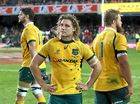 THE Wallabies are set to finish third in the 2015 Rugby Championship after they wilted in the final 10 minutes to lose 28-10 to South Africa in Cape Town.