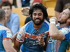 SOME unsavoury fighting incidents marred a dominant win by the Northern Pride over the Easts Tigers in the Intrust Super Cup grand final at Suncorp Stadium.