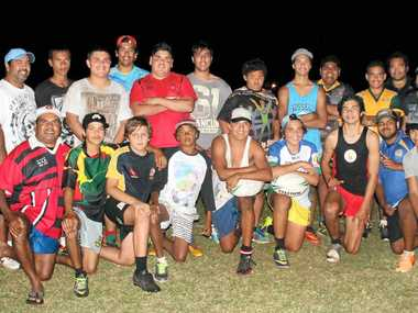 CARNIVAL DEBUT: The Cabbage Tree Island Descendants under-15s team will be competing for the first time at the NSW Aboriginal rugby league tournament to be played at Raymond Terrace north of Newcastle.