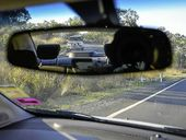 A MAN who was transporting gold bars in his car thought the tailgating vehicle behind him on the Bruce Hwy was trying to run him off the road.