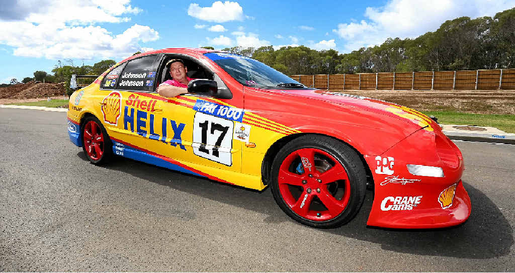 dick johnson bathurst tribute car to raise money for cancer sunshine coast daily. Black Bedroom Furniture Sets. Home Design Ideas