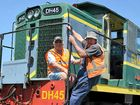 YEARS of negotiations and searching came to a  joyous end for Southern Downs Steam Railway members with the delivery of a new diesel locomotive from Gympie.