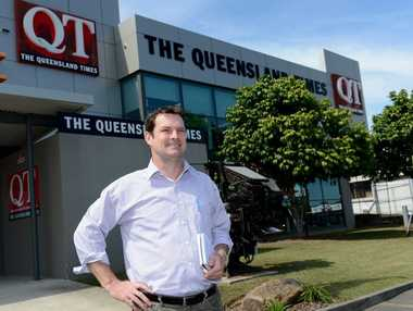 QT reporter Brian Bennion is returning to Ipswich after 10 years away. Photo: Kate Czerny / The Queensland Times