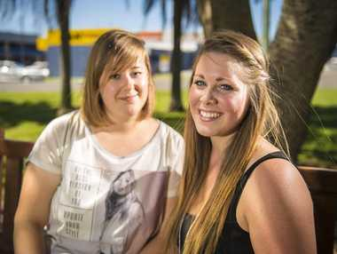 Maria Bussemer and Miri Kerle are looking for a fresh start in Gladstone after travelling from Germany for a working holiday.