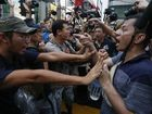 HONG Kong protests: Demonstrators vow not to be intimidated by 'hired guns'