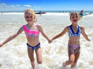 Mooloolaba Nippers start the season.
