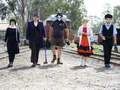 GHOSTS, ghouls and goblins will be taking brave passengers on the Queensland Pioneer Steam Railway's 100-year-old steam train this Halloween.