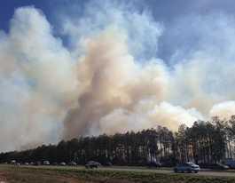 Bushfire reduction burn for Burpengary East